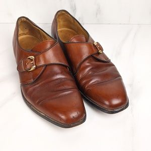 Vintage Bally dress shoes with buckle